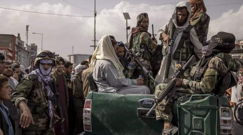Taliban's capture of power